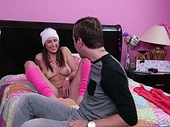 Breaking a hymen is once in a life time moment, but Jessy Jones is lucky, as he did it several times. In this video also, virgin Ashley Adams was fingered and he was in no hurry to break the seal. He kissed and licked her pussy for some time and slowly inserted his big dick and took her virginity.
