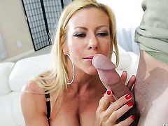 Blonde goddess Alexis Fawx is ready to fuck 24/7
