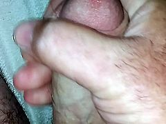 me jacking off with cum