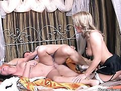 Cathy Heaven and hard dicked dude are horny for each other