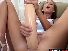 Whore Candi Apple lets the guys do whatever they want with her