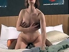 Wife spitroasted by hubby and black bull