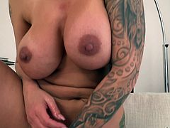 Ryan Conner is a cum hungry whore, with nice pair of tits and amazing ass. Only thing bigger than her ass, is her hunger for big cocks. She loves getting fucked hard from behind. Ryan adores sucking big cocks. She is happiest, when she gets the chance to slide up and down a huge dick!