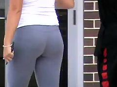 Candid Gym Ass 8