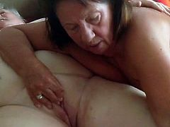 Squirting granny  Oesterreich Deutsch German bi