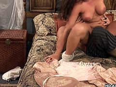Venus's customers were happy with her performance in bed. She also let them finger her holes. One was fucking her in sideways, while she was deepthroating the other. She was fucked in cowgirl position, with boob sucking and spanking. Her ass hole was banged from behind really hard