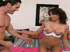 Redhead chachita Reno demonstrates her body parts while getting her sweet pounded hard and deep by h