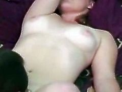 Retro playgirl cocksucking in threesome whilst jerking