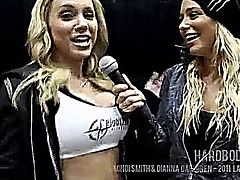 Dianna Dahlgren Interviews Fitness Model Mindi Smith at the LA Fit Expo