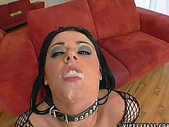 British Floozy Sophie Dee Double Permeated during the time that Engulfing Dong