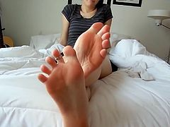 Socks And Feet Tease Sexy Soles HD 720p