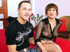 Super horny step sister drains not her step brothers balls