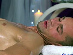 Have you ever fantasized about getting a massage with a happy ending? Getting your dick sucked by a sexy lady during massage, sure could relax a man like nothing else! Welcome to Massage Rooms, featuring romantic sex with amazing oral scenes. Nothing beats overlapping of two oiled bodies!