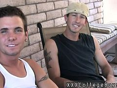Hot sex with school boy movies and gay twinks in thongs porn