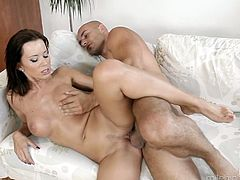 Sensual babe Cindy Dollar takes dick in her alluring pussy