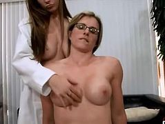 Family Doctor Cory Chase and Dillion Carter