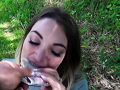 Tamara Grace gets her mouth destroyed by stiff tool