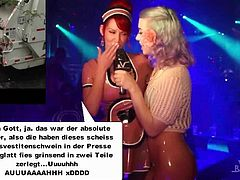 Die Latex Maid Luder TV Show Uncut