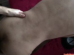 Amateur ladyboy girlfriend Yuyi sucking her Europian boyfriend's hard dick and gets her suffering ass fucked bareback with ass-to-mouth breaks. Yuyi is 23yo but she looks younger and she is so shy in beginning.
