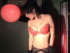 Pornstar stripper Jessica Jaymes does a dirty show