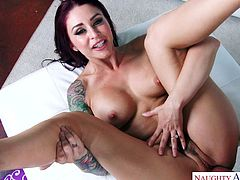Imagine coming home to cock hungry housewife like Monique Alexander. She has it all. This beautiful lady with amazing tits and big round ass will do anything, to please her hard working man. She will suck dick and fuck, just to express her gratitude for all of his hard work. Gotta love her!
