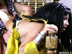 Oriental makes her sex dreams a come to life with her hot fuck buddy Danny D