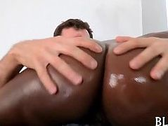 Dude is willing to fuck black babe