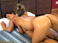 hot babes in a extreme hot sapphic lesbian nuru massage sex orgy