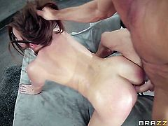 Johnny Castle plays with mouth-watering Maddy Oreillys deadeye after he slams her hole with his throbbing pole