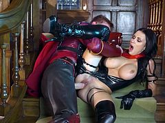 Visit official Brazzers Network's HomepageNude women with stunning tits, Patty Michova, enjoys horny super hero to smash her wet cunt into pieces, begging him to also provide her with his magic sperm