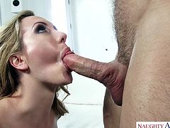 I always wanted to get fucked by my boyfriend's son Johnny. One time we was home alone and I seduced him. Oh boy, when he pulled out his big fat dick. I enjoyed sucking that cock so much. But the best part was when he pounded my wet, tight pussy. Can't wait to get fucked by him again!