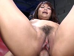 Visit official Japan HD XXX's HomepageNude wife with amazing ass, Maika, enjoys hubby's cock in her mouth for a complete blowjob, prior for her hairy Japanese pussy to receive a rough treatment