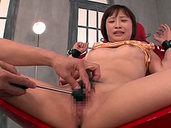 ayumi gets off from my sex toy