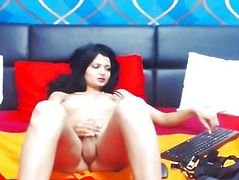 Hot Tgirl Likes to Jerk Off her Ramrod