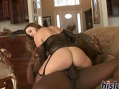 Monster black dick for ravishing Chanel Preston