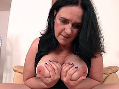 Pay your attention at this delicious offer. This curvy mature will eagerly take your hard cock deep inside her warm and starving pussy. Her big fat ass and huge meaty titties are waiting for you. Don't lose your time, join and enjoy!