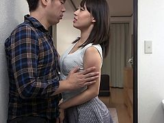 This time Sana's best friend came with her son and it was a real lure for such a tempted woman like she. This green and inexperienced guy instantly made her horny, and the busty milf decided to fuck him at any cost. See, if she succeeds.