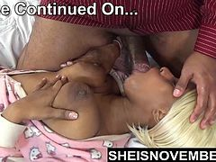 Ebony Step Daughter Msnovember is Fucked n Room Hardcore Dad