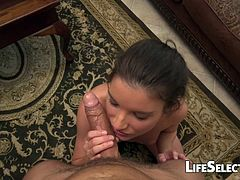 Anita Bellini is a tiny girl with a huge appetite for cock. See it for yourself!!!
