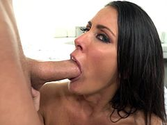 The eyes of Reagan Foxx can make a cock jizz just by looking