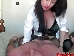 Big Boobs Lactating Milf Titty-Sucked & Fucked In Pussy