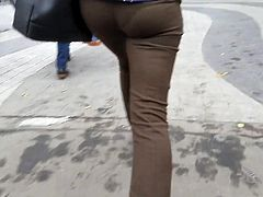 Ass go to the office
