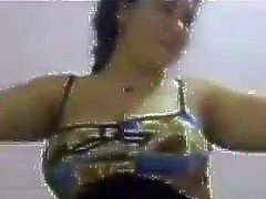 Egyptian hot wife very horny naked dance