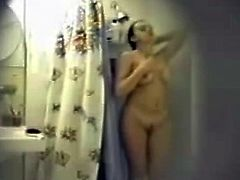 sexy girl in bathroom