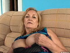 Brazilian Granny loves black cock