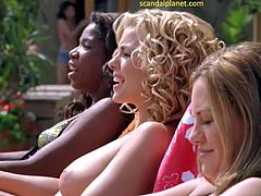 Jessica Collins Nude Scene In The Ranch Series
