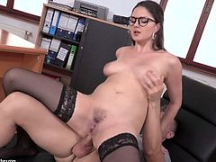 Sexually charged hottie Franceska Dicaprio is fucked in her gorgeous butt hole
