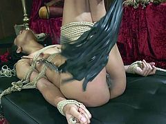 In fact it just looked like a punishment. I am absolutely sure that this disobedient ebony babe was definitely enjoying everything that was happening. Just listen how sensually she moans and how eagerly she eats her mistress's pussy... Enjoy lesbian ass spanking, bondage, punishment & hardcore sex. Hot!