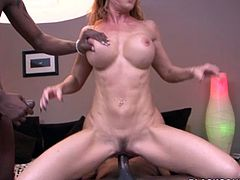 Janet Mason fucked by big black cocks