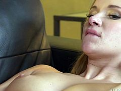 Angel has a reputation as being a naughty cock sucker. Her boyfriend loves the way she deepthroats his hard erection and brings him to the edge of cumming. He ate out her pussy and she was in heaven. His nimble fingers brought her close to orgasm, so he finished things off with some hard fucking.